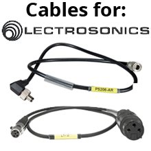 Cables for Lectrosonics
