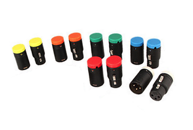 Ambient Low-Profile XLR3F connector