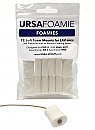 Ursa Mini Foamies White (Pack Of 12)